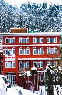 Winter at Swiss Hotel Kashmir